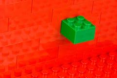 Unfitting building block Stock Photos