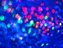 The unfocused blue background of abstract brilliance. For text, banner, poster, label, sticker, wallpaper, layout stock photos