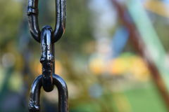 Unfocused chain Royalty Free Stock Photography