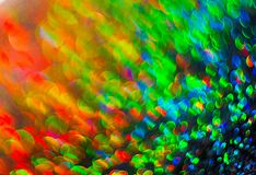 The unfocused colorful background of abstract lights. royalty free stock images