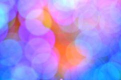 Unfocused colorful lights backdrop Royalty Free Stock Image