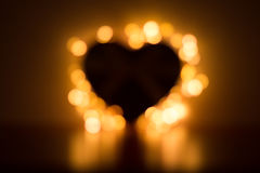 Unfocused heart for background Royalty Free Stock Image