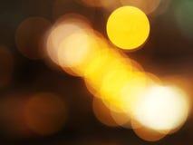 Unfocused Leuchten Stockbild