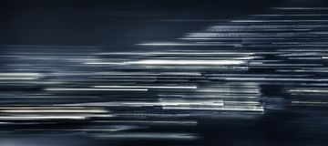 Unfocused motion abstract continuous lines. Perspectives stock photo