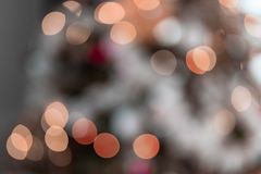 Unfocused Orange Lights Abstract royalty free stock photography