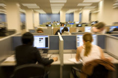 Unfocused students Stock Photos