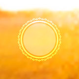 Unfocused summer poster. Stock Images