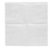 Unfolded paper napkin stock photography