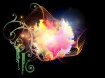 Unfolding of Design Nebulae Royalty Free Stock Images