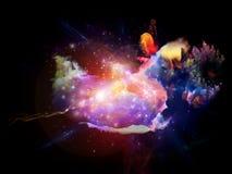 Unfolding of Design Nebulae Stock Images
