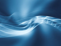 Unfolding of Fractal Waves Royalty Free Stock Photos