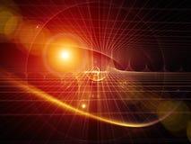 Unfolding of Geometry Stock Photo