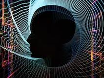 Unfolding of Intelligent Life Stock Photo