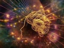Unfolding of the Mind Stock Photo