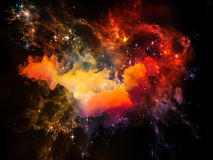 Unfolding of Space Royalty Free Stock Images