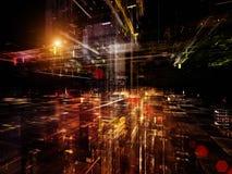 Unfolding of Technology Stock Image