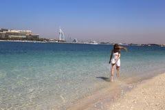 Unforgettable beauty. Beauty Dubai Stock Image