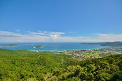 Unforgettable views of Hainan. Island Royalty Free Stock Image