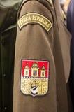 Unform. London, UK - 16th  AUGUST  2014 Portobello martek czech republik uniform Royalty Free Stock Photos