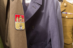 Unform. London, UK - 16th  AUGUST  2014 Portobello martek czech republik uniform Stock Image