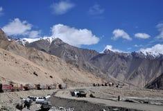 Unfruchtbare Berge Lizenzfreies Stockfoto