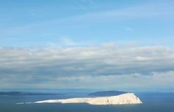 Unfruchtbare Insel in Adria, unbewohnt, vollständig bloß Lizenzfreie Stockfotografie