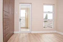 Unfurnished Bedroom in Newly Build House Stock Images