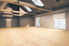 Unfurnished loft interior Stock Photography