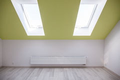Unfurnished new bedroom Royalty Free Stock Photography