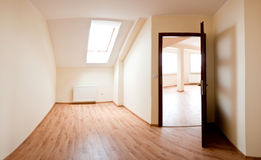 Unfurnished room Stock Photography