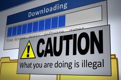 Ungültiges Download lizenzfreie abbildung