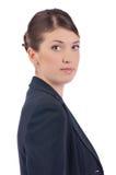 Ung affärskvinna Royaltyfri Fotografi