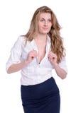 Ung affärskvinna fotografering för bildbyråer