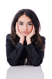 Ung affärskvinna Arkivfoto