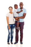Ung afrikansk familj arkivbild