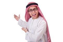 Ung arabisk man Arkivfoton
