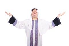 Ung arabisk man Arkivfoto