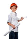 Ung arkitekt Arkivbild