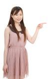 Ung asiatisk affärskvinna Royaltyfria Foton