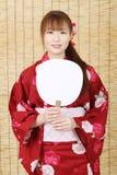 Ung asiatisk kvinna Royaltyfria Bilder