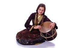 Ung azeri kvinna Royaltyfri Foto
