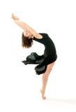 Ung baletdansare Arkivfoto