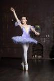 Ung ballerina Arkivfoto