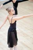 Ung Ballerina Royaltyfri Fotografi