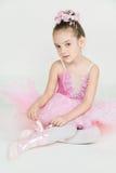 Ung ballerina arkivbild