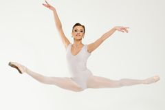 Ung ballerinadansare Royaltyfri Fotografi