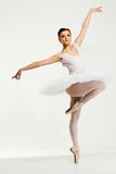 Ung ballerinadansare Royaltyfria Bilder