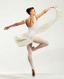 Ung ballerinadansare Arkivfoton