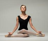 Ung ballerinadansare Fotografering för Bildbyråer