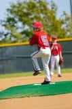 Barnserien i basebollkanna Royaltyfria Foton